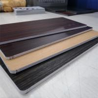 Buy cheap Fireproof Core Wood Grain Aluminum Composite Panel For Room Decoration from wholesalers