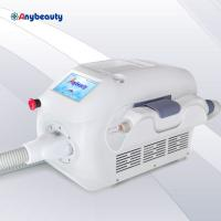 Buy cheap Pure White Mini Q Switched Nd Yag Laser 300w 1 - 6hz For Tattoo Removal from wholesalers