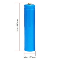 Buy cheap 320mAh 3.7V Rechargeable AAA Size 10440 Lithium Ion Battery For Toothbrush from wholesalers