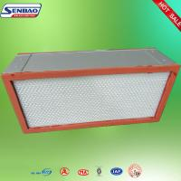 Mini Pleat H13 Particulate Air Filter Replacement For Air Conditioner Manufactures