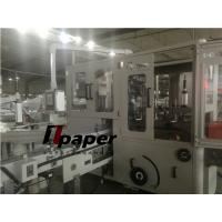 Buy cheap Siemens PLC Automatic Soft Facial Tissue Paper Making Machine with 90 bags/min from wholesalers