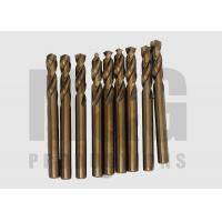 Buy cheap DIN 1897 HSS Cobalt Short Drill bit , Screw machine Drill bits with Armber Finishing from wholesalers