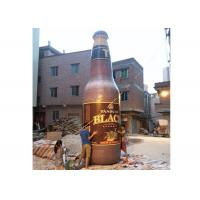 Attractive Inflatable Beer Bottle , Inflatable Replicas For Special Event / Advertising Manufactures