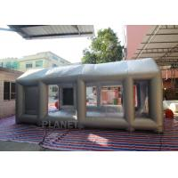 Buy cheap Automatic Car Inflatable Spray Paint Booth 6mx4mx3m With Logo Printing from wholesalers