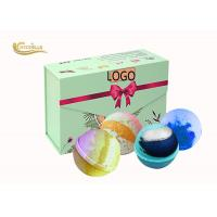 Buy cheap Custom Luxury Bath Bomb Gift Sets Organic Color Changing bath Fizzy from wholesalers