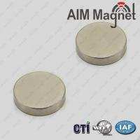 Buy cheap 20mm dia x 2mm thick N52 Highest Grade Ndfeb Magnets from wholesalers