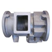 Buy cheap Resin Sand Casting Ductile Cast Iron Machine Moulded Nodular Cast Iron Compressor Housing from wholesalers