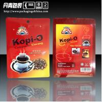 Buy cheap Aluminum Foil Three Side Seal Coffee Packaging Bags Ziplock Stand Up Pouches product