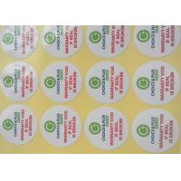 Buy cheap Business Custom Printed Sticker Labels Advirtising Multipurpose Aqueous Coating from wholesalers