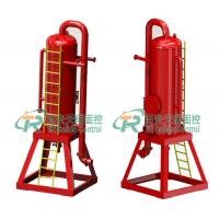 Buy cheap Oil Drilling Solid Fluids Liquid Gas Separator / Liquid Gas Mud Separator Used for Oilfield from wholesalers