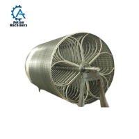 Wholesale Paper Mill High Speed Cylinder Mould Machine Single Stainless Steel Cylinder Mould from china suppliers