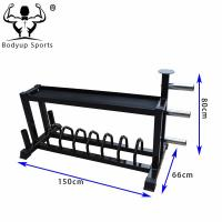 Buy cheap Adjustable Gym Weight Rack Multipurpose For Gym Equipment L150*W66*H80cm from wholesalers