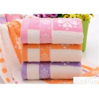 Buy cheap Fashionable Home Spa Towel Dye Yarn , Face Wash Cloths Durable from wholesalers