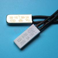 Buy cheap KSD9700 90 degree C temperature cutoff switch lighting thermal protector for home appliance from wholesalers