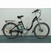 China Electric Bike with Pedaling Run Mode, 250W Brushless Motor, Li-battery and CE-certified on sale