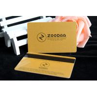 China Factory supply luxury printing magnetic strip visiting plastic PVC cards on sale