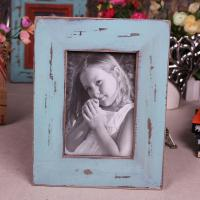 Buy cheap 2014 New blue Shabby chic photo frame for home decoration holiday gift from wholesalers