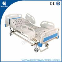 Buy cheap Fully ICU Electric Hospital Beds For Patient With ABS Soft Joint Bedboard from wholesalers