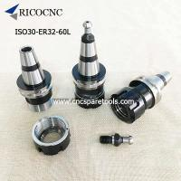 Buy cheap Woodworking CNC router ISO30 ER32 60 Tool holder Collet Chuck with HSD Pull Stud from wholesalers