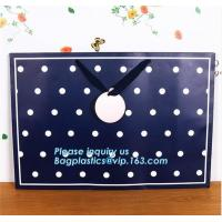 Buy cheap luxury black and white stripe jewellery pouch paper bags,Paper bag with your own logo,foil stamping embossed heart kraft from wholesalers