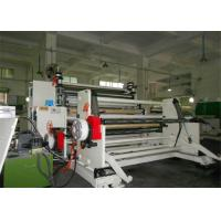 Hydraulic Automatic Film Slitting Machine , Paper Roll Slitting Machine Manufactures