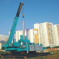 Buy cheap Low Noise Hydraulic Pile Driving Machine , Construction Piling Machine from wholesalers