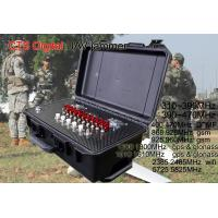 Wholesale 9 Bands Military Drone Jammer , Gps Wifi Drone Frequency Blocker 5KM Range from china suppliers