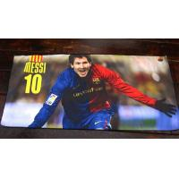 Buy cheap Barcelonaes football club logo towel beach towel soccer towel bath towel Messi  towel from wholesalers