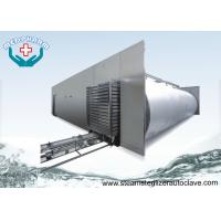 Buy cheap Recessed Through Wall Hospital Steam Sterilizer Equipment With Pre - vacuum And Post Vacuum Phase from wholesalers