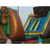 Exciting Inflatable Zip Line for Event and Party Team Challenge Games Manufactures