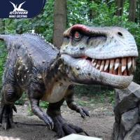 Wholesale Zoo Equipement Realistic Dinosaur Models Handmade Customizable Size from china suppliers