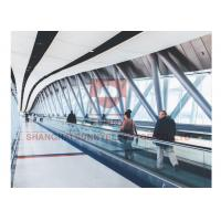 Buy cheap 0° Automatic Airport Conveyor Belt Walkway 8kw With Vvvf Control Device from wholesalers