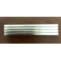 Buy cheap Custom Shaped N45 Neodymium Bar Magnets 60X10X3mm With 3M Adhesive Super Strong For Glasses Fixing from wholesalers
