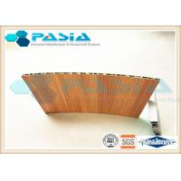 Buy cheap Wood Veneer Honeycomb Composite Panels Yacht Wall Use Corrosion Resistant from wholesalers