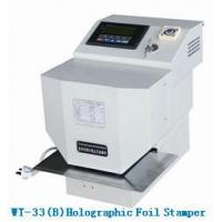 Buy cheap Holographic Foil Stamping Machinewt-33 (B) from wholesalers