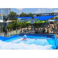 Buy cheap Customized Flow Rider Wave Fiberglass Surfing Machine Amusement  for Water Park from wholesalers