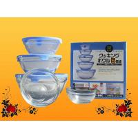 Buy cheap High white Machine made offset printing Clear Candy Glass Bowl / Glassware from wholesalers