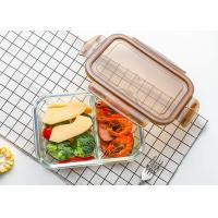 Buy cheap Glass Food Container With Lid / Glass Crisper / Microwave Glass Bowl from wholesalers