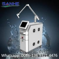 Buy cheap Sanhe ce 2 years warranty 1064 nm 532nm nd yag laser / nd yag laser mole removal from wholesalers