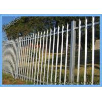 Buy cheap Powder Coated D & W Steel Palisade Fence Black Finished Easily Assembled from wholesalers