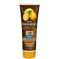 Buy cheap 236ml super-luxurious lemonate deep bronzer tanning lotion with SPF8 from wholesalers