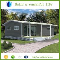 Buy cheap low cost warehouse EPS/rockwool insulation prefab steel container vila house from wholesalers