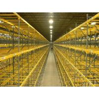 Buy cheap Custom Selective Pallet Racking Systems / Fixed Steel Frame Storage Shelves from wholesalers