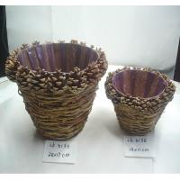 Buy cheap 2018 new handicraft basket,bark and branches made,home decoration, holiday gifts,holiday ornaments and  decoration from wholesalers