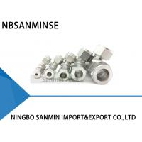 Buy cheap UT Union Tee Stainless Steel SS316L Pneumatic Tube Fittings Plumbing Fitting High Quality Sanmin from wholesalers