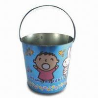 Buy cheap Ice Bucket, Made of 0.28mm or 0.30mm, Made of Tinplate from wholesalers