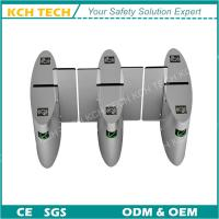 Buy cheap Multiple Sensors Optical Barrier Fast Speed RFID Card Reader Sliding Turnstile product
