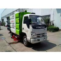 Buy cheap Mini Broom Road Sweeper Truck 4m3 3m3 Forland RHD LHD Street Sweeper Machine from wholesalers