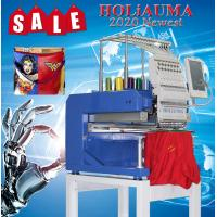 Buy cheap 2020 single head 15 needle computerized embroidery machine price brother embroidery machine quality for cap/flat embroid from wholesalers