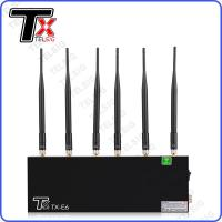 Buy cheap Indoor Device To Block Wifi Signal , 20MHZ - 6.5Ghz Wifi Network Jammer from wholesalers